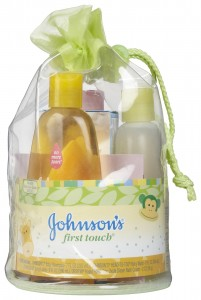 Johnsons First Touch Beginner Baby Gift Set