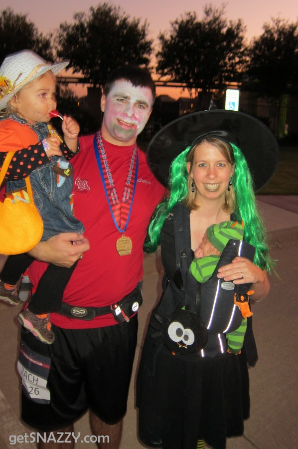 DIY Halloween Costumes - Zombie Runner, Witch, Monster, Scarecrow @getSNAZZY