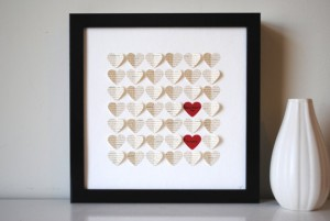 Mother's Day Gift - 3D Heart Art - Personalized, Unique, Handcrafted - Unique Mother's Day Present SuzyShoppe InstaMommy getSNAZZY