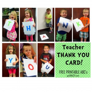 Teacher Thank You Card Free Printable ABCs getSNAZZY