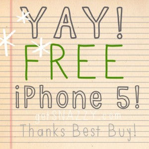 free iPhone 5 trade in from Best Buy