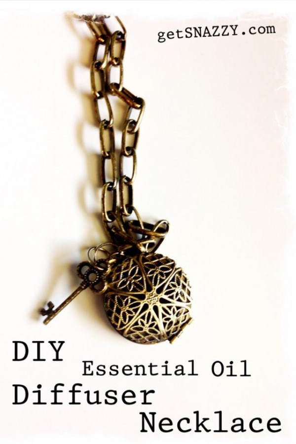 DIY Essential Oil Diffuser Necklace @getSNAZZY @OilyFamilies @HobbyLobbyStore